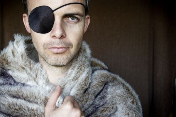 Portrait au pirate de Sibérie