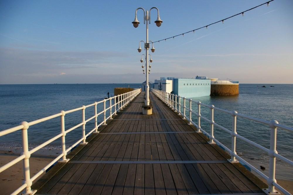 Jersey - Havre des Pas : piscine