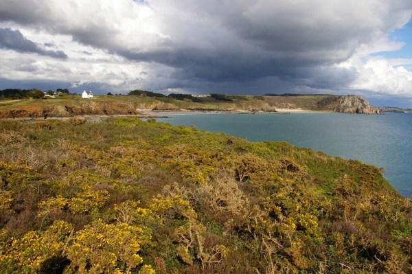 Presqu'île de Crozon - Depuis l'île de l'Aber 3