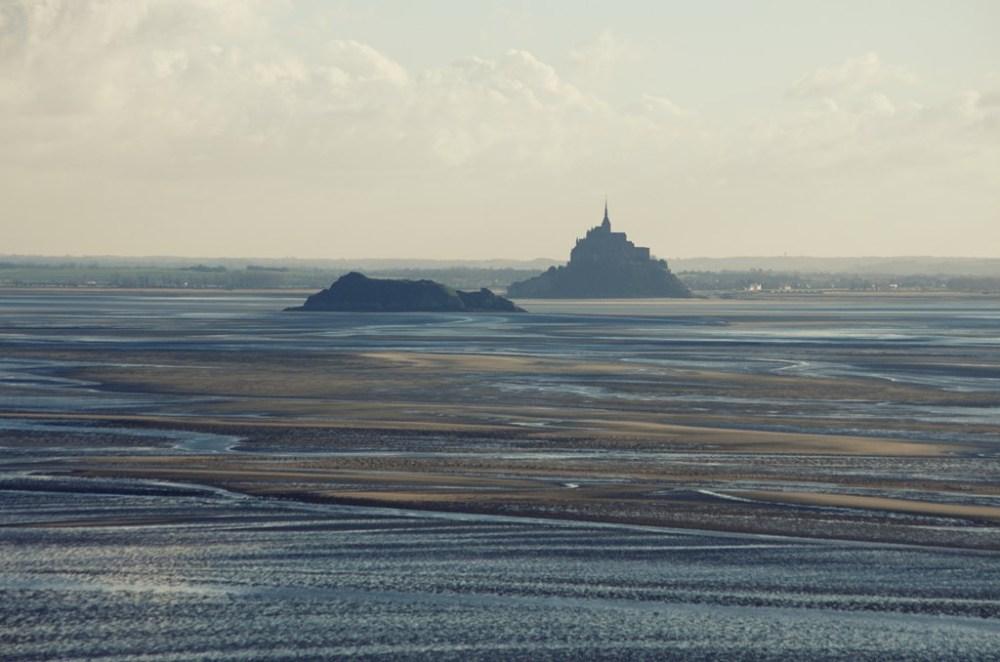 Le Mont-Saint-Michel et Tombelaine dans leur baie