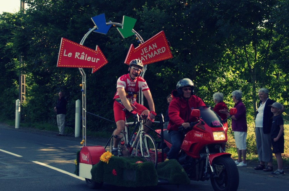 Le Tour de France - Extrait de caravane !