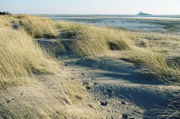 dune baie mont-saint-michel dragey normandie