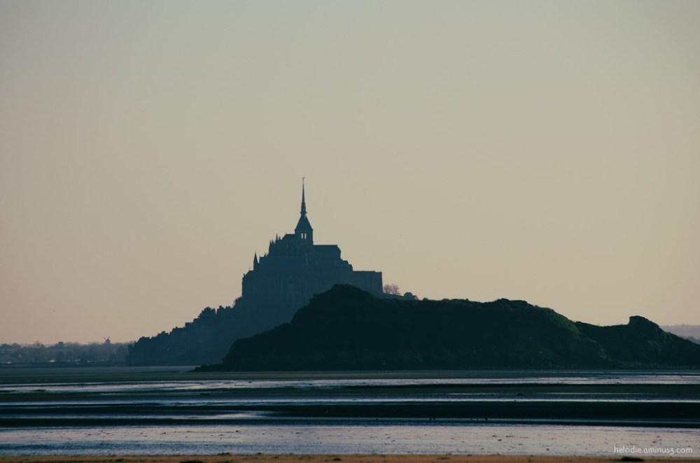 baie mont-saint-michel tombelaine dragey normandie