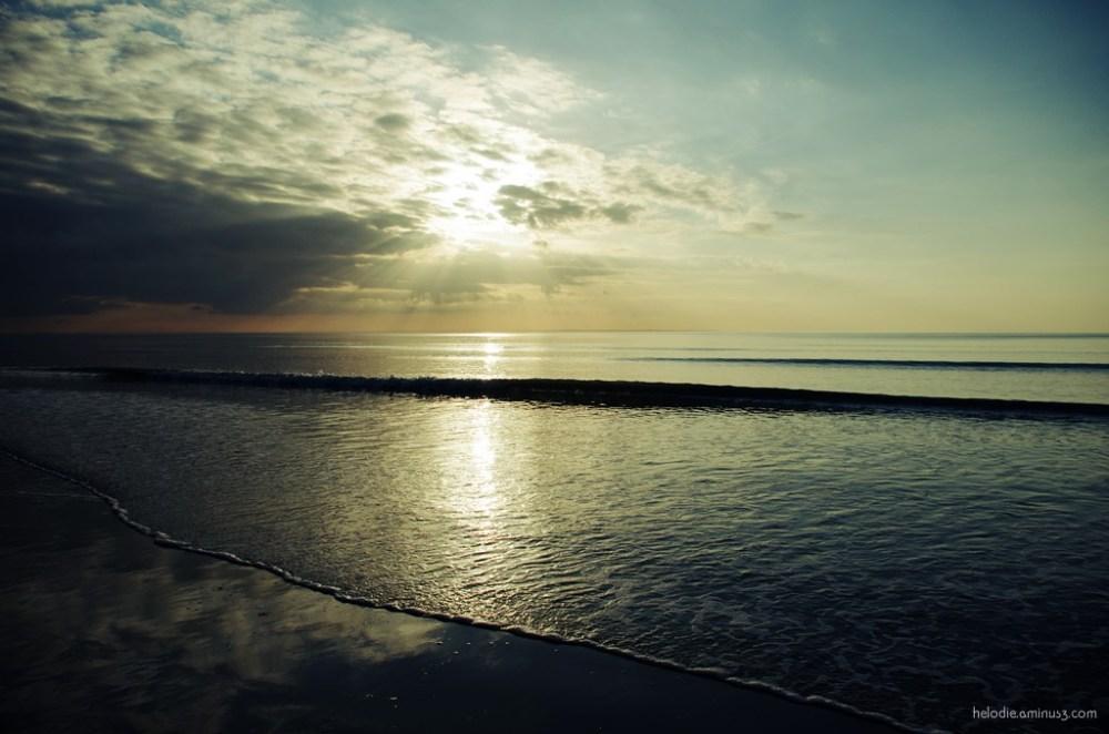 normandie sunset mer sea carolles
