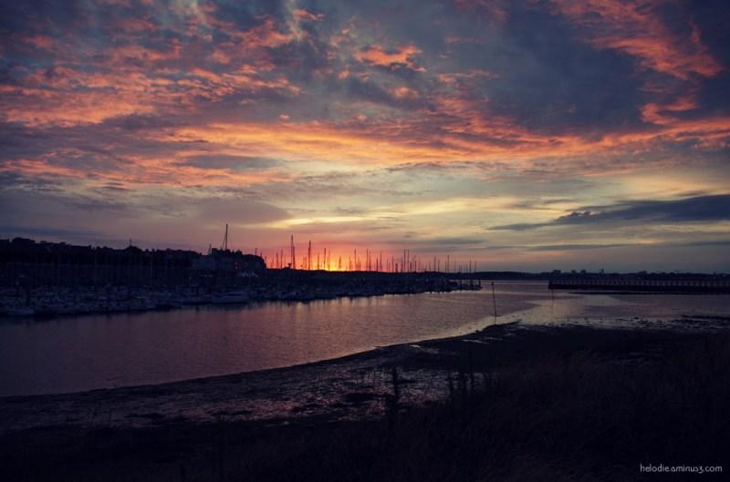 port-louis bretagne port sunset elodie hergoualch