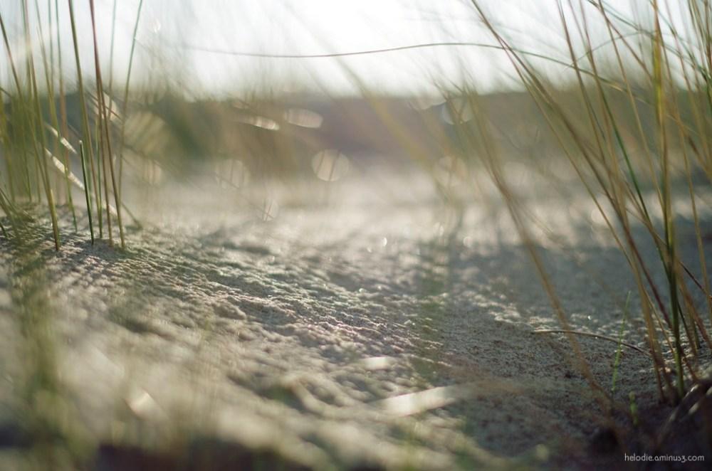 elodie hergoualch sable sand normandie dragey