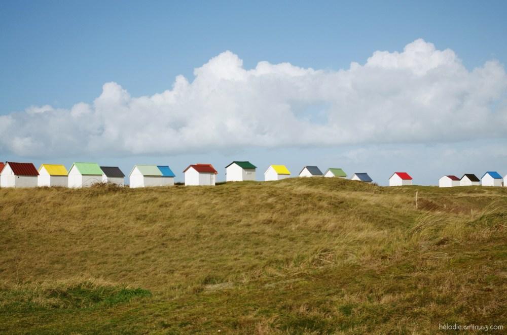 Les cabanes de Gouville-sur-Mer