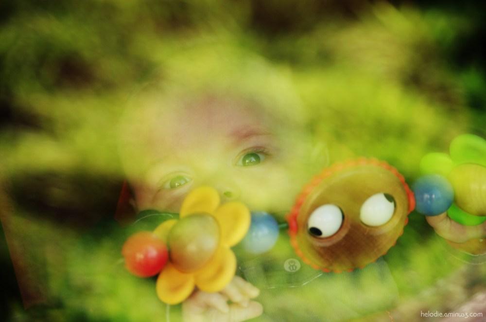 Bébé en reflexion