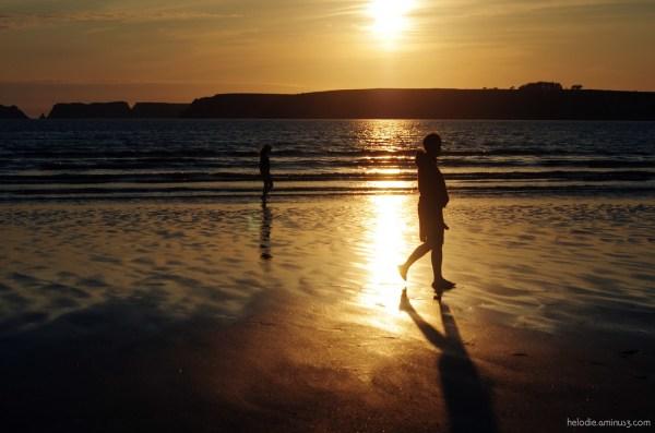 crozon sunset mer sea goulien elodie hergoualch