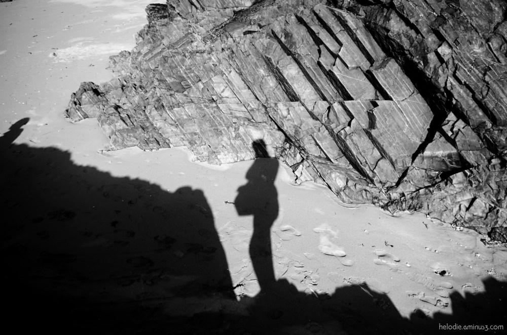 elodie hergoualch autoportrait selfportrait ombre