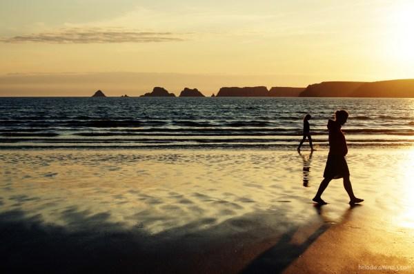 elodie hergoualch sunset crozon