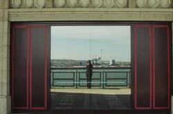 Autoportrait à la gare maritime