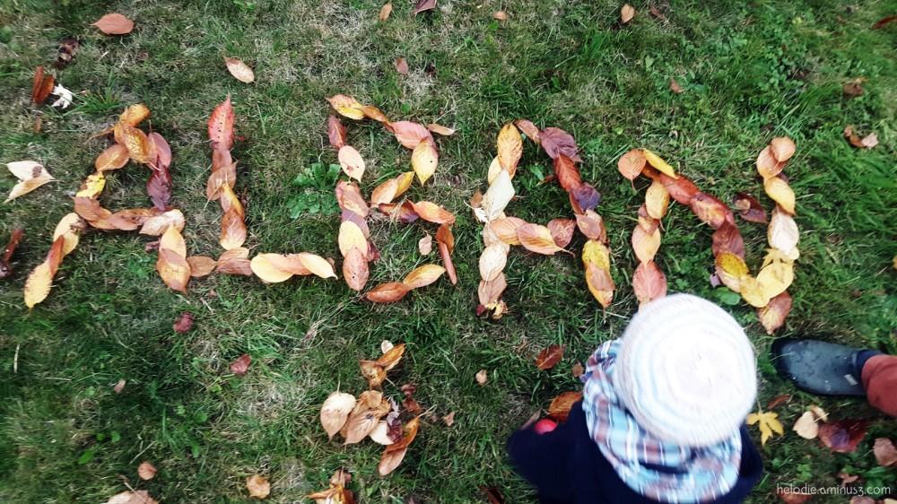 Alphabet d'automne