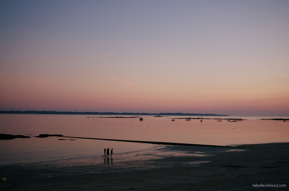 Sunset breton