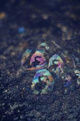 Autoportrait aux bulles