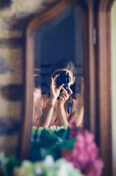 Autoportrait du vestibule