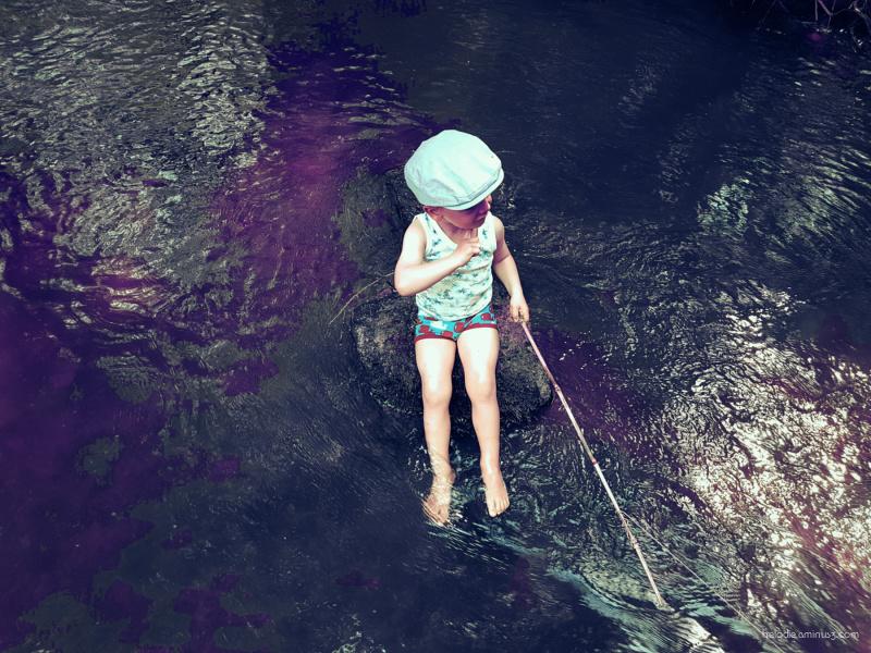 Little pêcheur