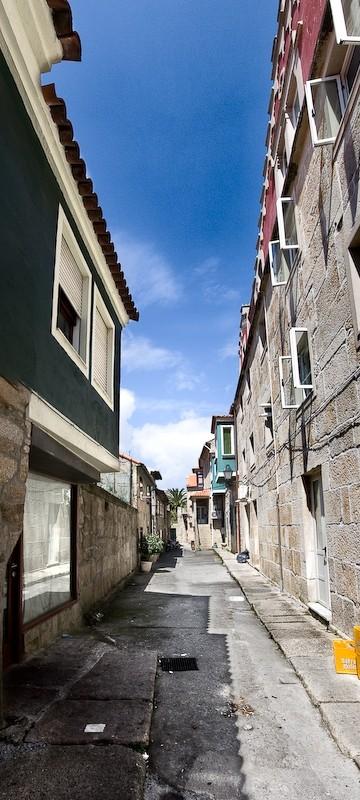 Una calle de Cambados