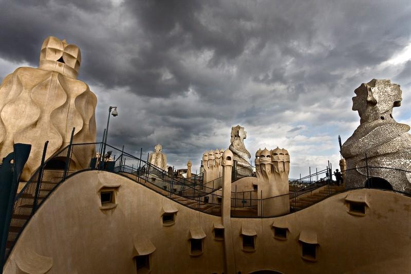 Terraza de La Pedrera (Casa Milá)