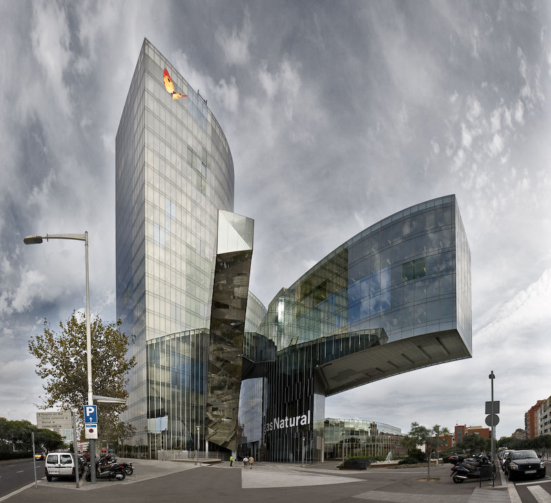 Edificio de Gas Natural en Barcelona