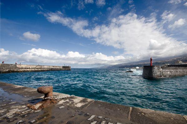 Muelle en el Puerto de la Cruz, Tenerife
