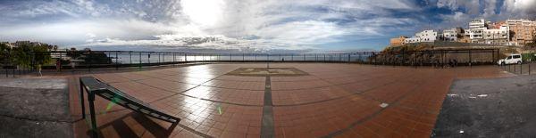 Plaza de el Puerto de Santiago, en Tenerife