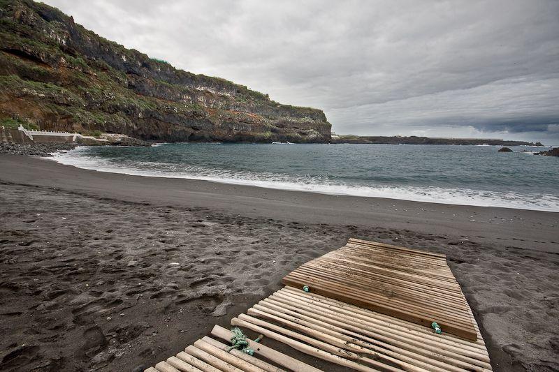 Playa en Icod de los Vinos