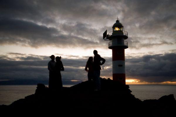 Faro en Punta de Teno