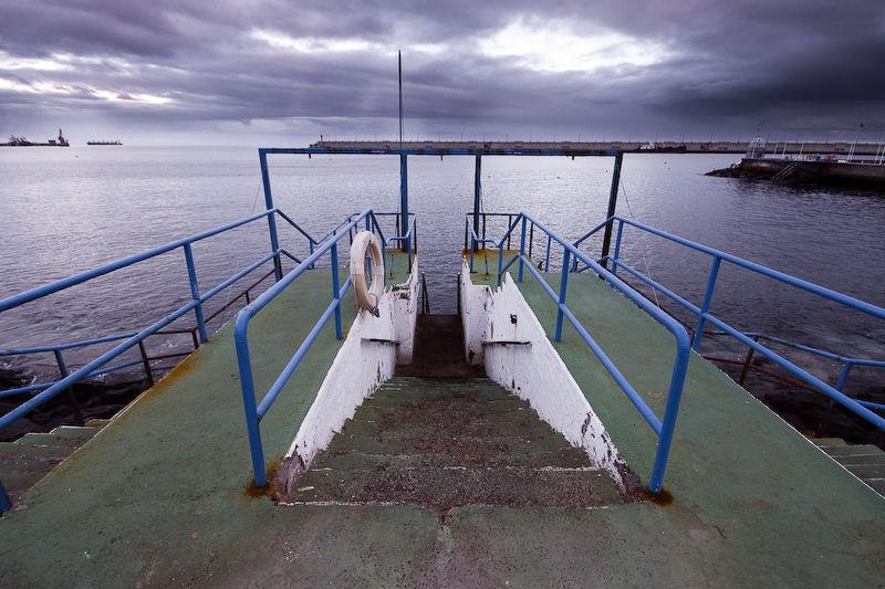 Salida al mar de Paso Alto