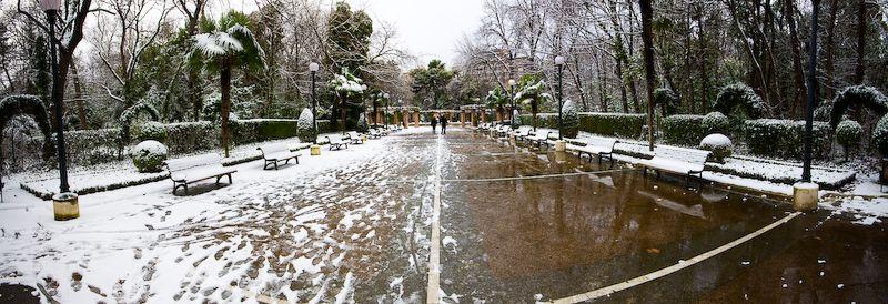 Bajo la Nieve, un Espejo