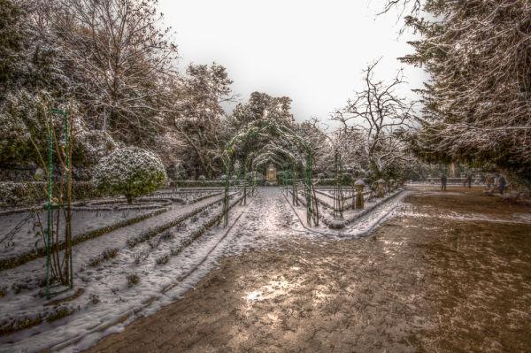 Nieve en el Campo Grande