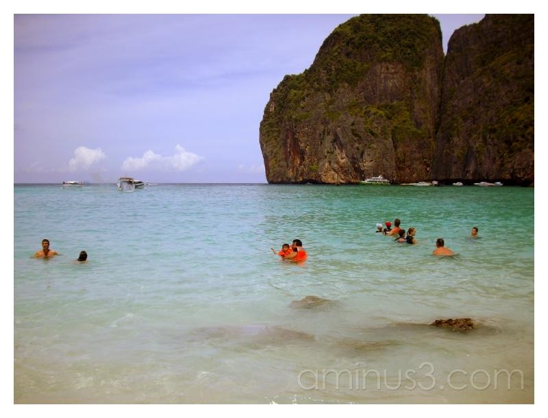 Maya Bay Lagoon, Phi Phi Don, Thailand