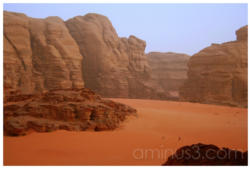Sci-Fi Landscape, Wadi Rum, Jordan