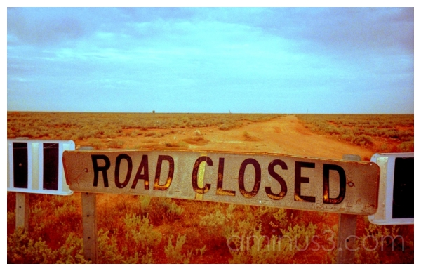 Road to Nowhere, Nullabor, Southern Australia