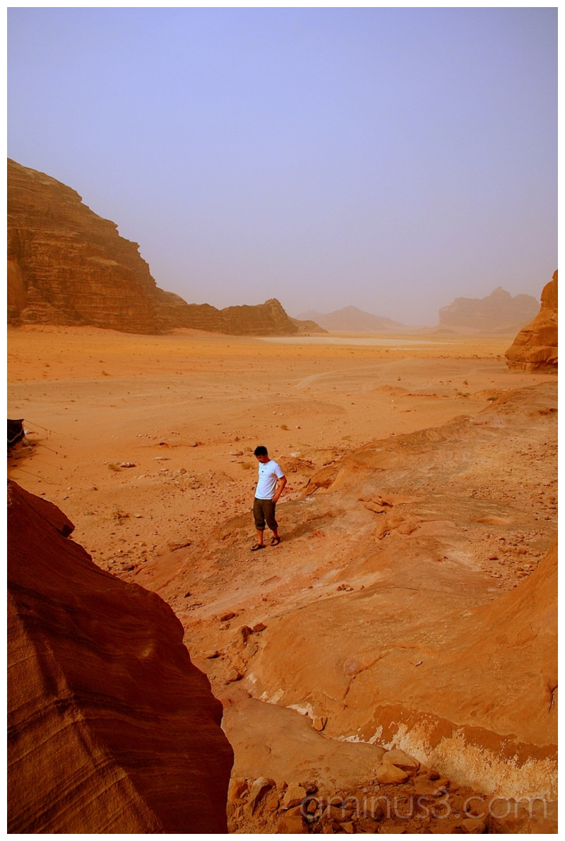 the Golden Lands of the Nabatene, Wadi Rum, Jordan