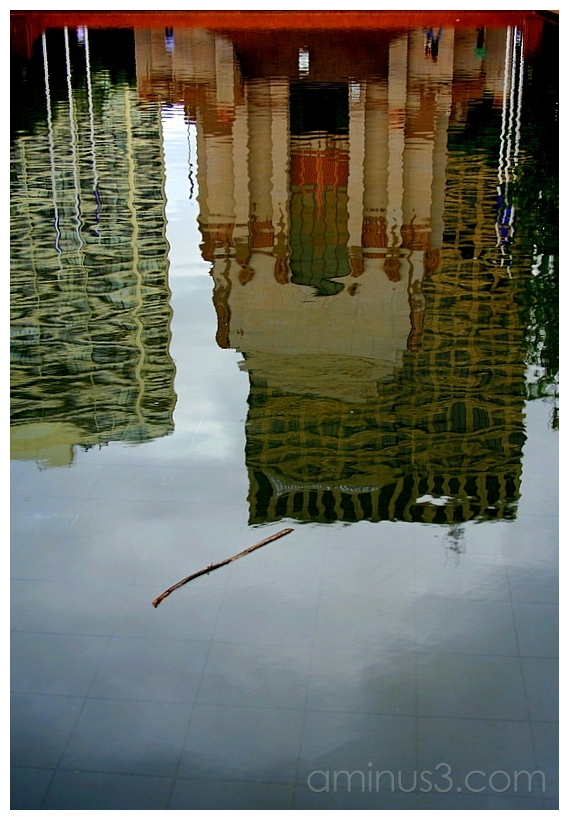 Reflection Pool, Hyde Park, Central Sydney
