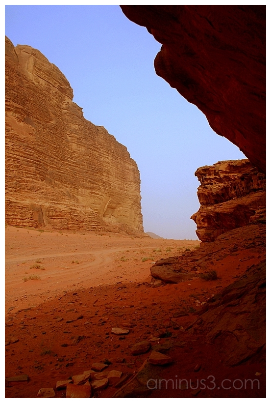 Jagged Piece of Sky, Wadi Rum, Jordan