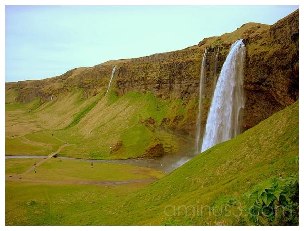 Seljalandsfoss Falls, Selfoss, Southern Iceland