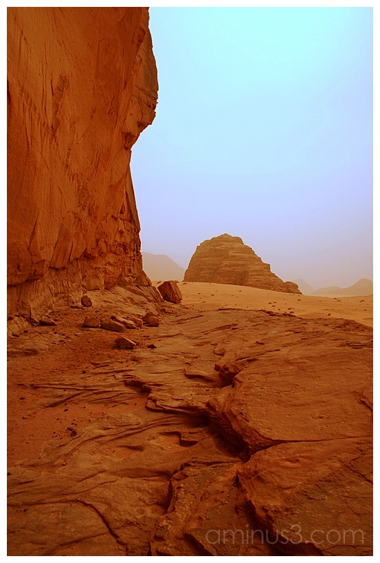 The Hidden Petroglyph Ledge, Wadi Rum, Jordan