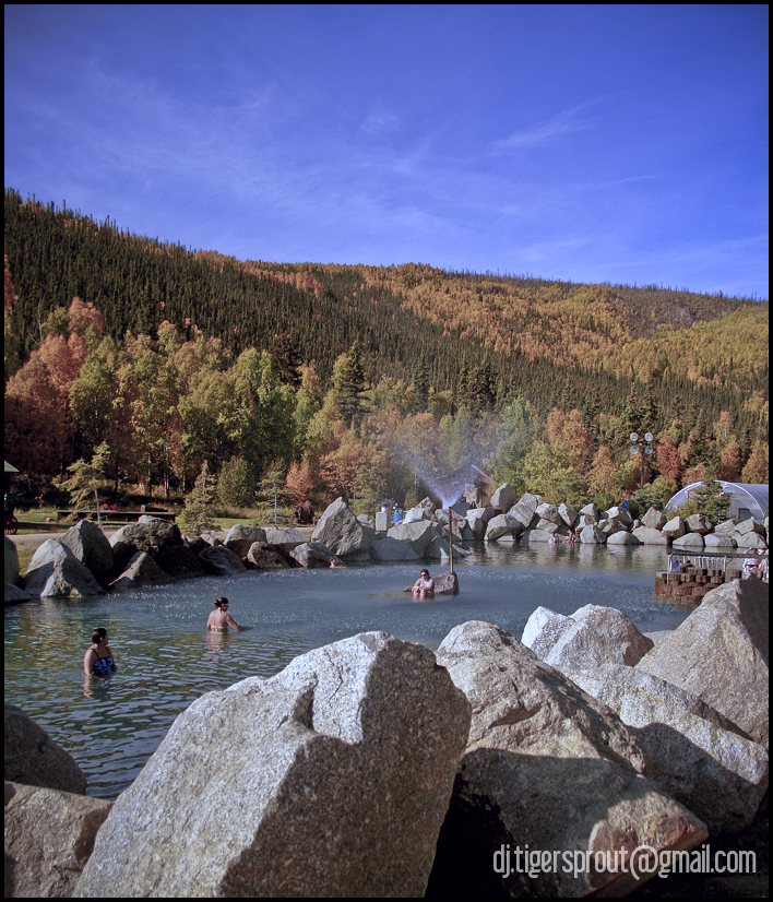 Chena Hot Springs in Autumn