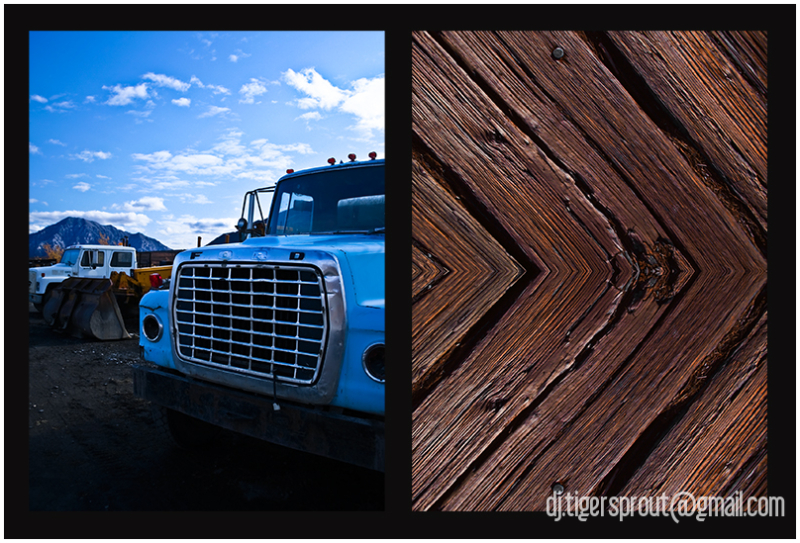 Alaskan Elements: Metal & Wood