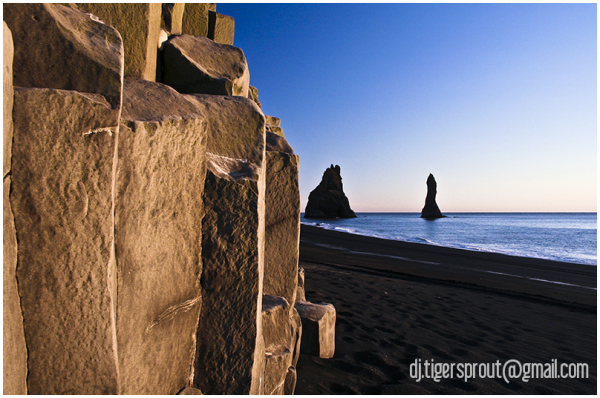 Basalt Columns & Sea Spires, Southern Iceland