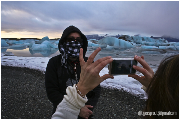 One for Posterity, Jokulsarlon, Southern Iceland