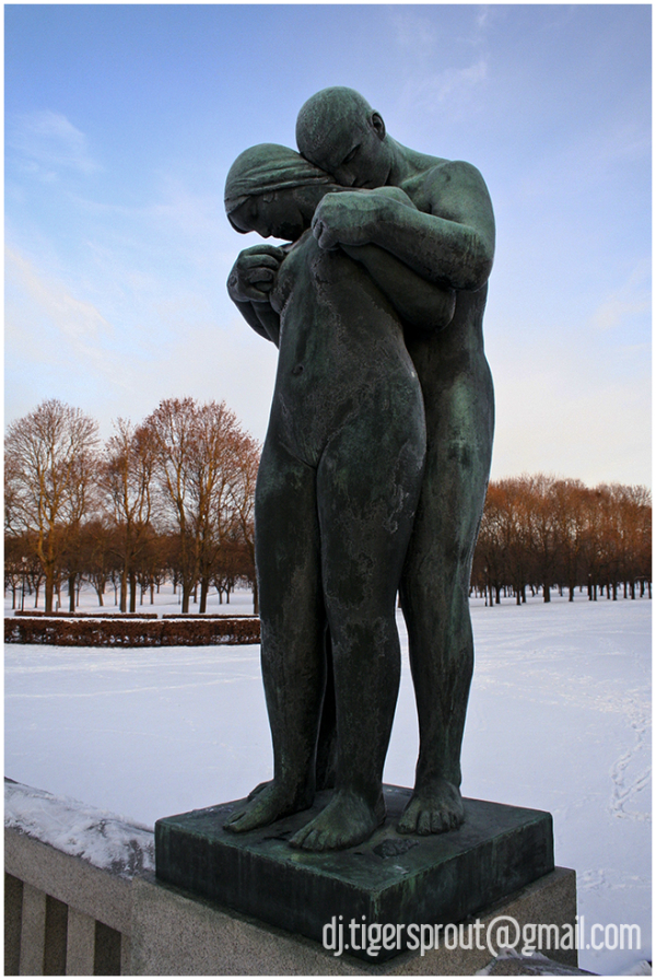 Young Lovers, Vigeland Sculpture Park, Oslo