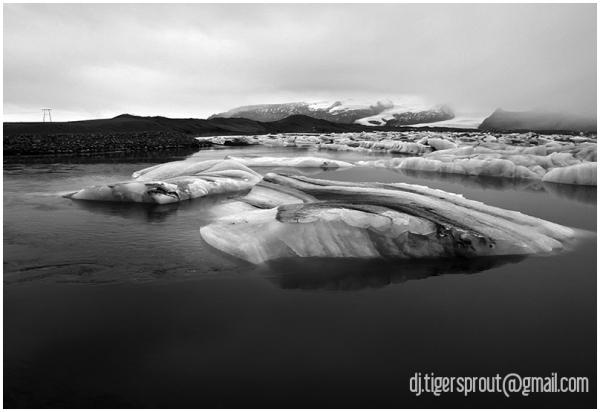 A Deep, Icy Bath, Jokulsarlon Glacier Lagoon