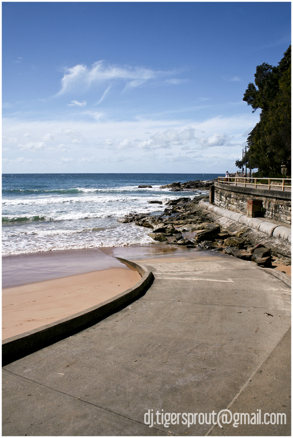 Where the Sidewalk Ends, Manly Beach, Sydney