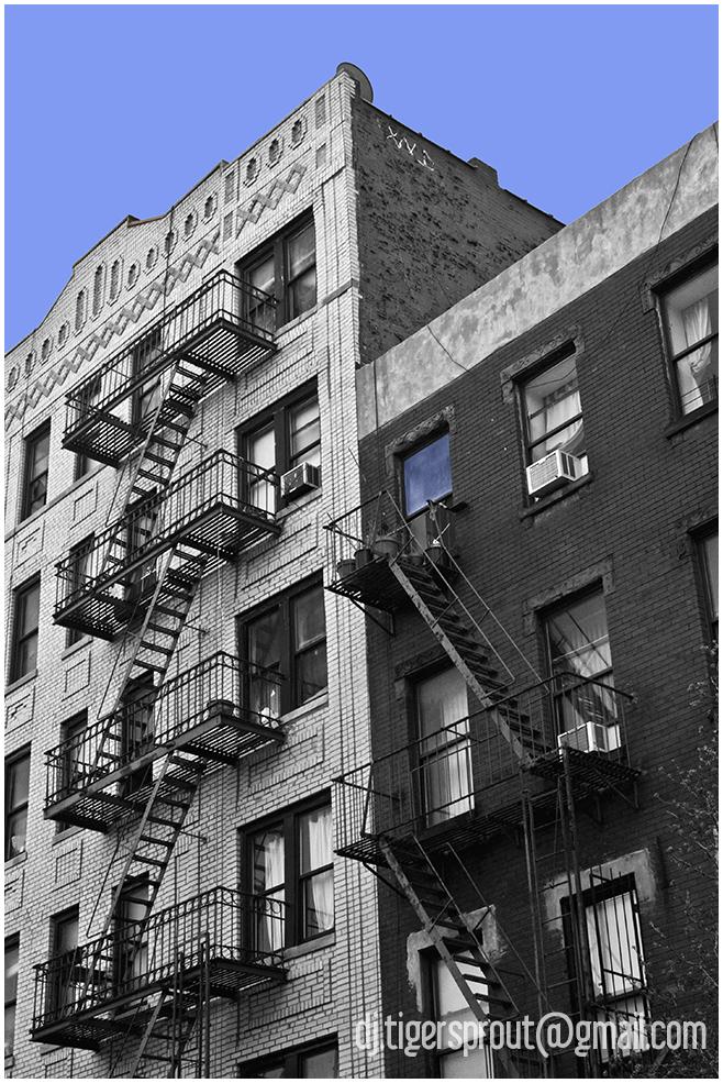 Double Stacked Zig-Zag, Williamsburg, NYC