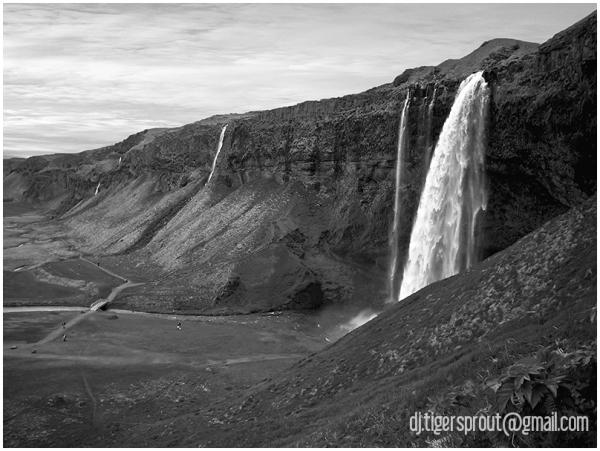Sejalandsfoss Falls, Southern Iceland 2007