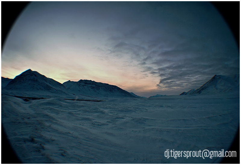 Winter Solstice, Anaktuvak Pass, Arctic Circle