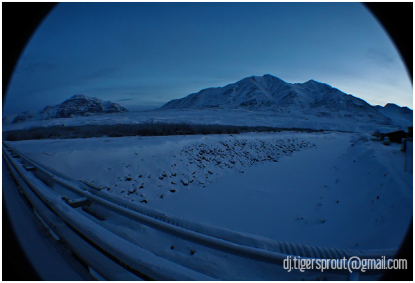 a Cold, Blue World (Anaktuvak Pass), Arctic Circle
